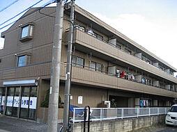 埼玉県草加市稲荷3丁目の賃貸マンションの外観