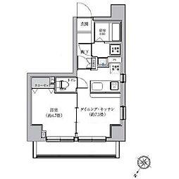 ゼクシア川崎[601号室]の間取り