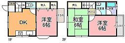 ASAHI・ROOMY 5号館[101号室]の間取り