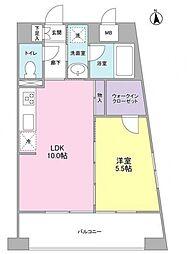 千代田コーポ[3階]の間取り