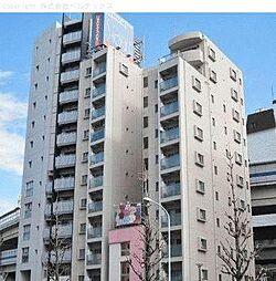 東京都港区南麻布の賃貸マンションの外観