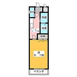 プロスペラーレ[1階]の間取り