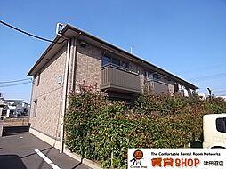 千葉県船橋市二和東3丁目の賃貸アパートの外観