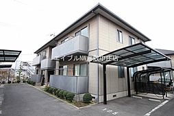 岡山県倉敷市石見町の賃貸アパートの外観