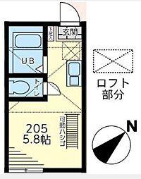 ヒルズ戸塚町[2階]の間取り