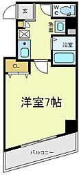 アヴェニール寺田町[6階]の間取り