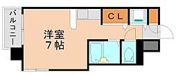 ピュアドーム井尻[3階]の間取り