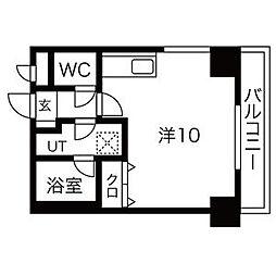 北海道札幌市中央区南九条西10丁目の賃貸マンションの間取り