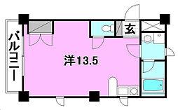ベルハイム38[401 号室号室]の間取り