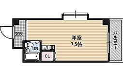 アメニティ淡路[6階]の間取り