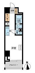 東京都港区芝公園1丁目の賃貸マンションの間取り
