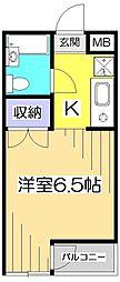 アメニティコウヤマ第12ガーデン[1階]の間取り