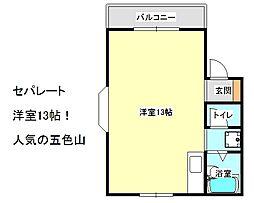 兵庫県神戸市垂水区五色山4丁目の賃貸マンションの間取り