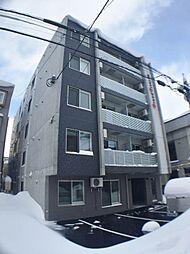 北海道札幌市中央区南八条西12丁目の賃貸マンションの外観