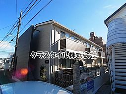 神奈川県相模原市中央区淵野辺5丁目の賃貸アパートの外観