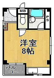 アワーハウス平尾[3階]の間取り