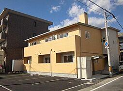 岡山県岡山市北区中島田町1丁目の賃貸アパートの外観