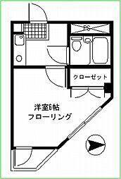 妙蓮寺ミューズ[301号室号室]の間取り