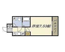 BASE NAMIYOKE[6階]の間取り