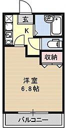 エクシード梅小路[206号室号室]の間取り