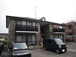愛媛県松山市三町1丁目の賃貸アパートの外観