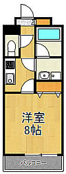 ベルフォート[3階]の間取り