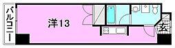 カローラ木屋町[202 号室号室]の間取り