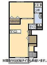 (新築)エムグレイスR[103号室]の間取り