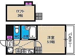 タカトヨハイツ7[2階]の間取り