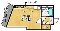ジャパンハイツプリマベーラ六本松[6階]の間取り