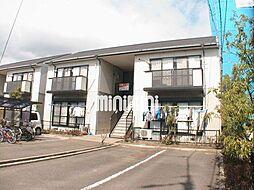ハウスTMK A棟[2階]の外観