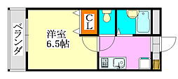 リアル・ジョイ実籾壱番館[206号室]の間取り