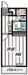 埼玉県さいたま市大宮区堀の内町の賃貸マンションの間取り