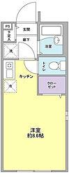 メゾン・プルミエ136[2階]の間取り