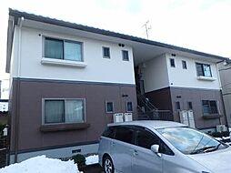 新潟県新潟市北区柳原2丁目の賃貸アパートの外観