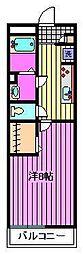 リブリ・メゾンド ベル[2階]の間取り