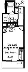 神奈川県川崎市幸区小向西町2丁目の賃貸マンションの間取り