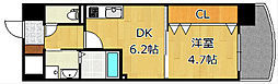 ザ.ヒルズ戸畑[6階]の間取り