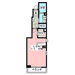ソフィアA[1階]の間取り