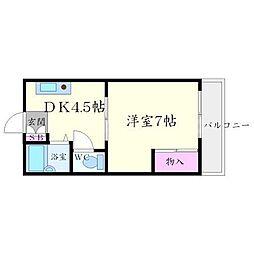 EST1小野原[2階]の間取り