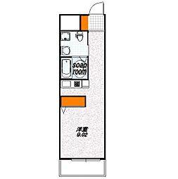 G-Design京都西院[2階]の間取り