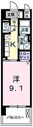 東京都青梅市野上町3丁目の賃貸マンションの間取り