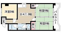 第2豊嶋ビル[210号室]の間取り