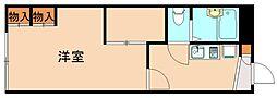 レオパレス飯塚[2階]の間取り