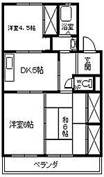 湫マンション[103号室]の間取り