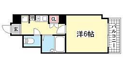 サムティ三宮北[2階]の間取り