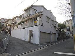 兵庫県神戸市兵庫区会下山町1丁目の賃貸アパートの外観