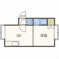 メゾンピュアハウス[3階]の間取り