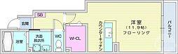 仙台市地下鉄東西線 八木山動物公園駅 3.1kmの賃貸アパート 1階ワンルームの間取り