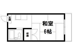 メゾン洛苑[3階]の間取り